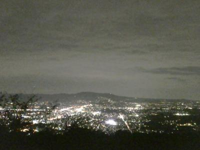 NHK奈良「麒麟がくる」と新日本三大夜景を満喫したけど、カラスには要注意の旅。