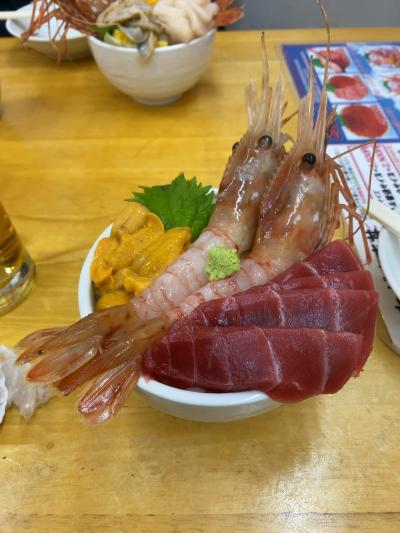 代休で飛ぶ北海道 グルメを求めて日帰り小樽!