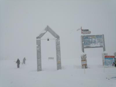 今シーズン初滑り。今シーズンは雪降りそう。