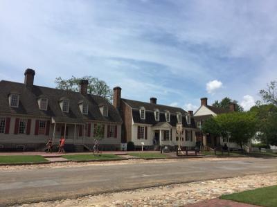 バージニア州 コロニアル ウィリアムズバーグ ー アメリカ独立前の最大の歴史地区を街歩き