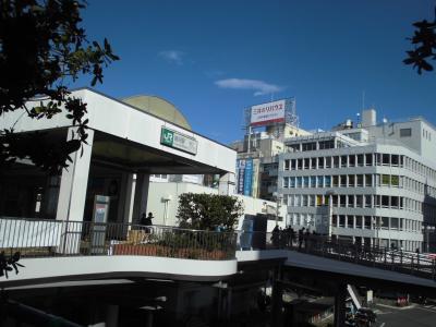 藤沢駅周辺の風景