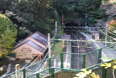 県内旅行で箱根強羅から箱根塔ノ沢へ。②塔ノ沢をプラプラ。阿弥陀寺へ。