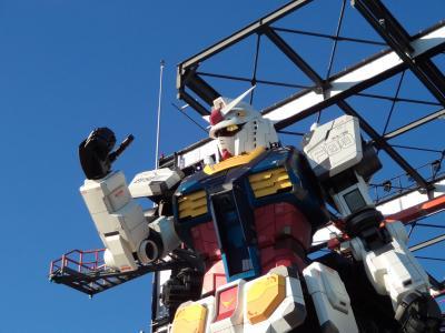 見せてもらおうか、横浜の動くガンダムとやらを!(GUNDAM FACTORY YOKOHAMA)