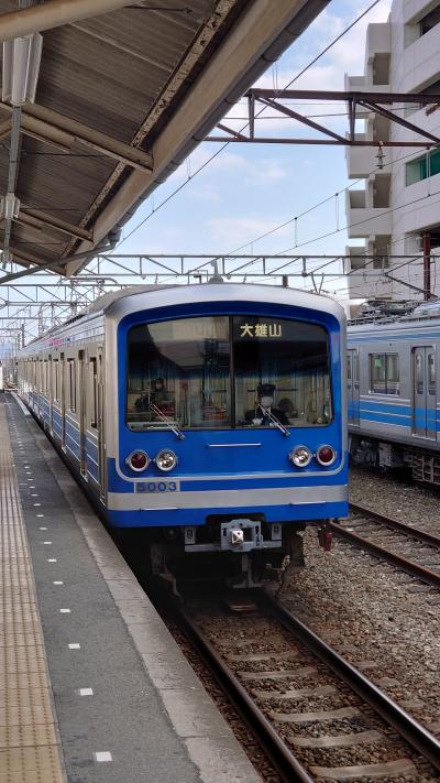 伊豆箱根鉄道大雄山線と道了尊