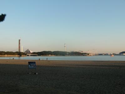 いつもと違う冬の海の公園(横浜市金沢区)と横浜八景島を散策
