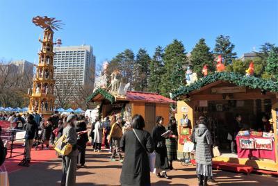 日比谷公園のクリスマス・マーケット