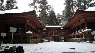 雪の比叡山延暦寺