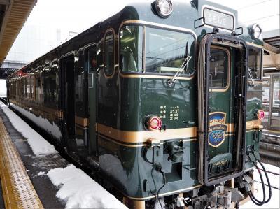 雪に包まれた北陸旅行③富山高岡氷見編【観光列車べるもんたに乗りたくて♪瑞龍寺・ガラス美術館】