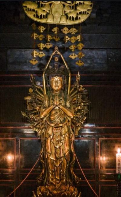 2020年12月 京都日帰り旅行 西国三十三所巡礼の旅 第16番清水寺、第17番六波羅蜜寺