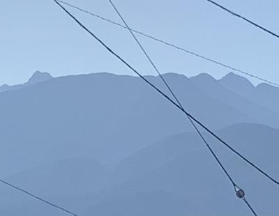 GoTo 諏訪湖 ④ 車窓から懐かしの山岳見ながら