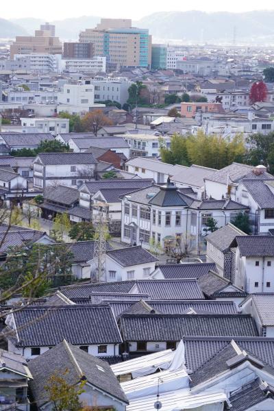 20201221-3 倉敷 待ち合わせまで時間あるんで。美観地区、アイビースクエア、阿智神社。