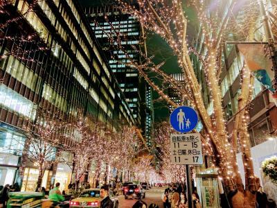 クリスマスイブ 日本橋高島屋 丸の内イルミネーション 銀座エッグスンシングス