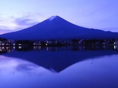 2020年12月 富士五湖付近