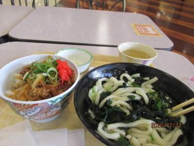 四国霊場最後の巡礼(34)途中のイオンモールで昼食を食べ、次の坂出天皇寺へ。