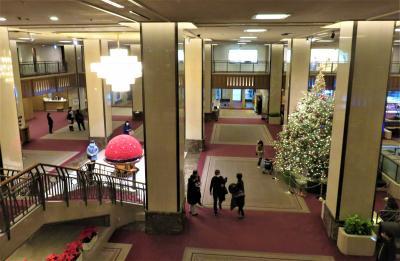 帝国ホテル東京に二連泊し、レストラン「レ・セゾン」再訪