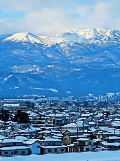 Go To 宮城県 やまびこ55号⇒仙台へ(トクだ値50/eチケット)☆福島あたりは雪景色で