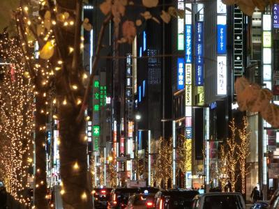 イルミネーション2020 上野~日本橋~京橋~銀座