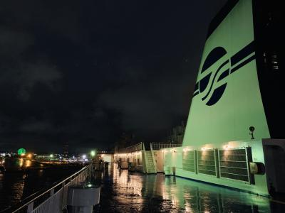 太平洋フェリーで行く 名古屋~苫小牧の旅2