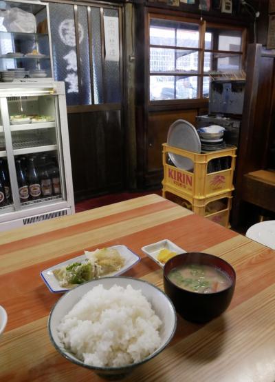 高松から土讃線各駅停車で高知へ、丸吉食堂とちょっとB級高知街歩き編