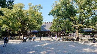 初の名古屋さるく パワスポ熱田神宮へ