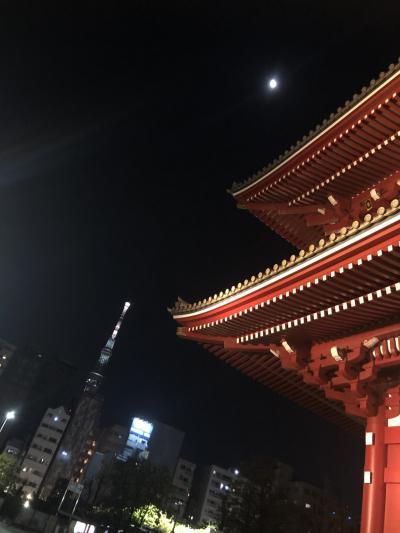 夜の浅草散策今戸神社
