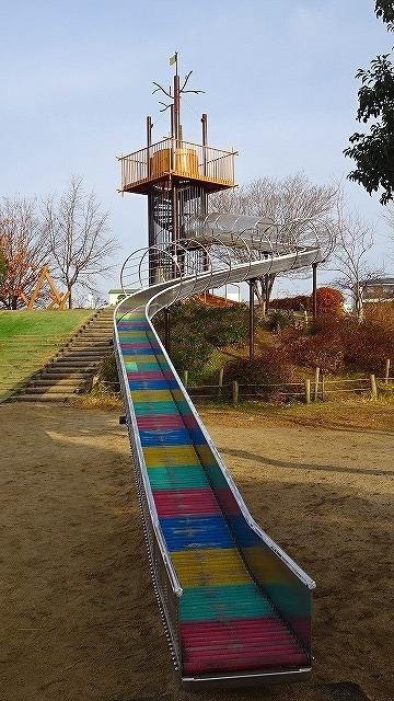 伊丹市内の滑り台のある公園を訪問・・・3回目 その1。