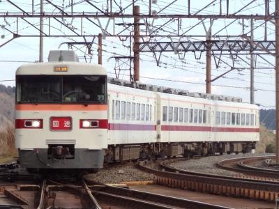 鬼怒川温泉/蟹と鉄旅・その2.東武の長老電車350型特急きりふり号に乗ろう。
