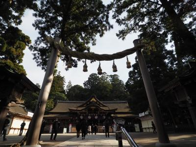 初詣は二回に分けて、大神神社