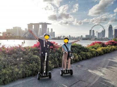 新婚旅行 春節のシンガポール3 リトルインディア&ミニセグウェイツアー