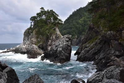 波打ち際を歩くネダリ浜自然歩道2020~みちのく潮風トレイル 海のアルプス編~(岩手県普代)
