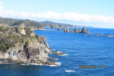 年末の伊豆下田旅行を楽しむ④石廊崎灯台よりの展望