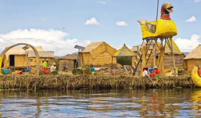 チチカカ湖畔の街 プーノ 2度目の訪問にして初ウロス島