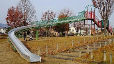 伊丹市内の滑り台のある公園を訪問・・・3回目 その4完。