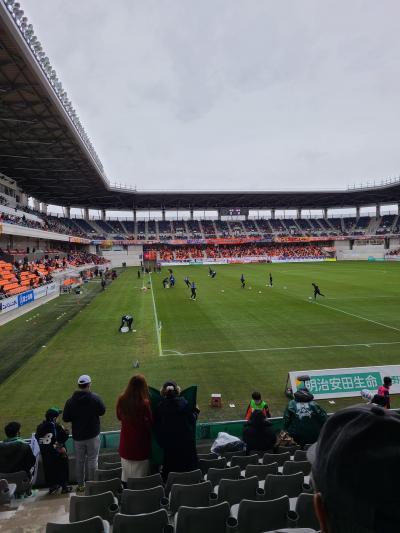 前泊からのアウェイ戦@長野ユースタジアム