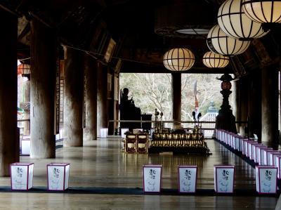 初詣 密とは無縁の長谷寺へ 奈良