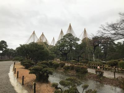年忘れ1500㎞ドライブ 金沢→福井→滋賀→静岡(浜松) 兼六園編