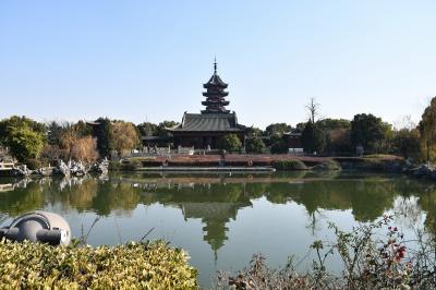 コロナ厳戒態勢下の蘇州観光(盤門景区)