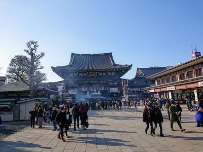 川崎大師へ初詣 2021