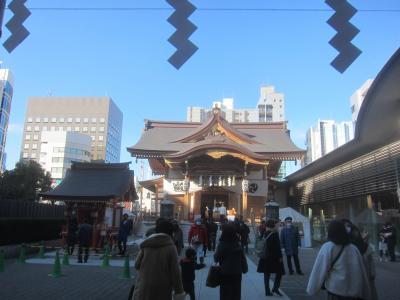 2021年初詣は日本橋に行きました