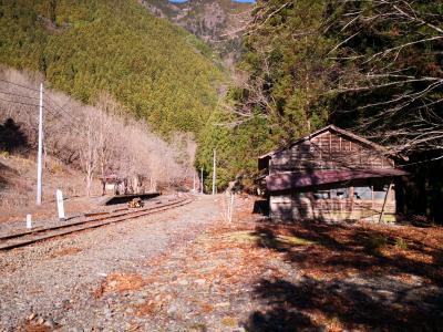 大晦日、大井川鐡道の秘境駅に降り立つ