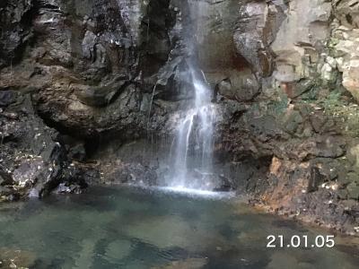 麻漬けの滝を見に行ってみました