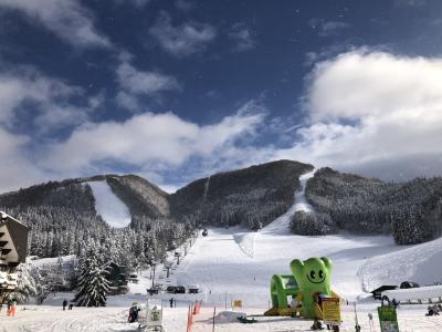 海外旅行だけでなく国内スキーも行くよ♪ 2020年12月・野沢温泉の巻
