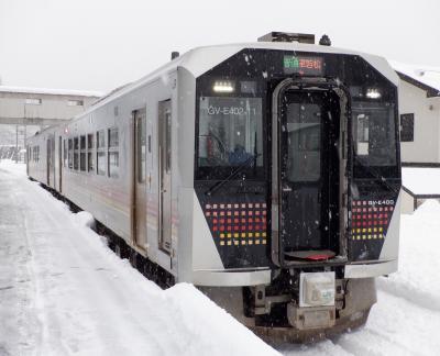E JAN 2021  正月明けのプチ旅・・・・・②磐越西線非電化区間