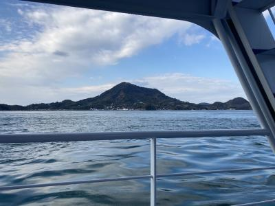 新年のスタートは松山からフェリーで興居島