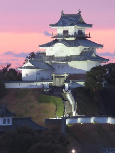 GoToトラベルで奥湯河原から掛川へ ☆ (3)密を避けて 掛川城へ