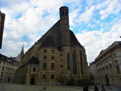 ウィーンの穴場ーリンク内の教会群ー(2015年11月)