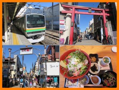 2015鎌倉プリンスホテルへ(1)2階建てグリーン車で鎌倉へ 小町通りでしらす丼