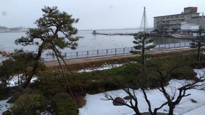 カニを食べに北陸に、片山津温泉矢田屋松濤園に泊まりました。料理がおいしい。