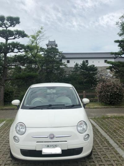 四国城巡りドライブ旅行