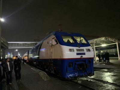ウズベキスタン旅行 タシケントから寝台列車でテルメズへ